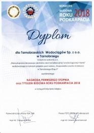 2019 budowa roku dyplom