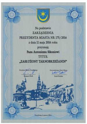 tarn roku 2016 2 dyplom